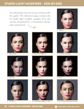 50 off studio lighting reference guide ebook snapndeals for A different angle salon