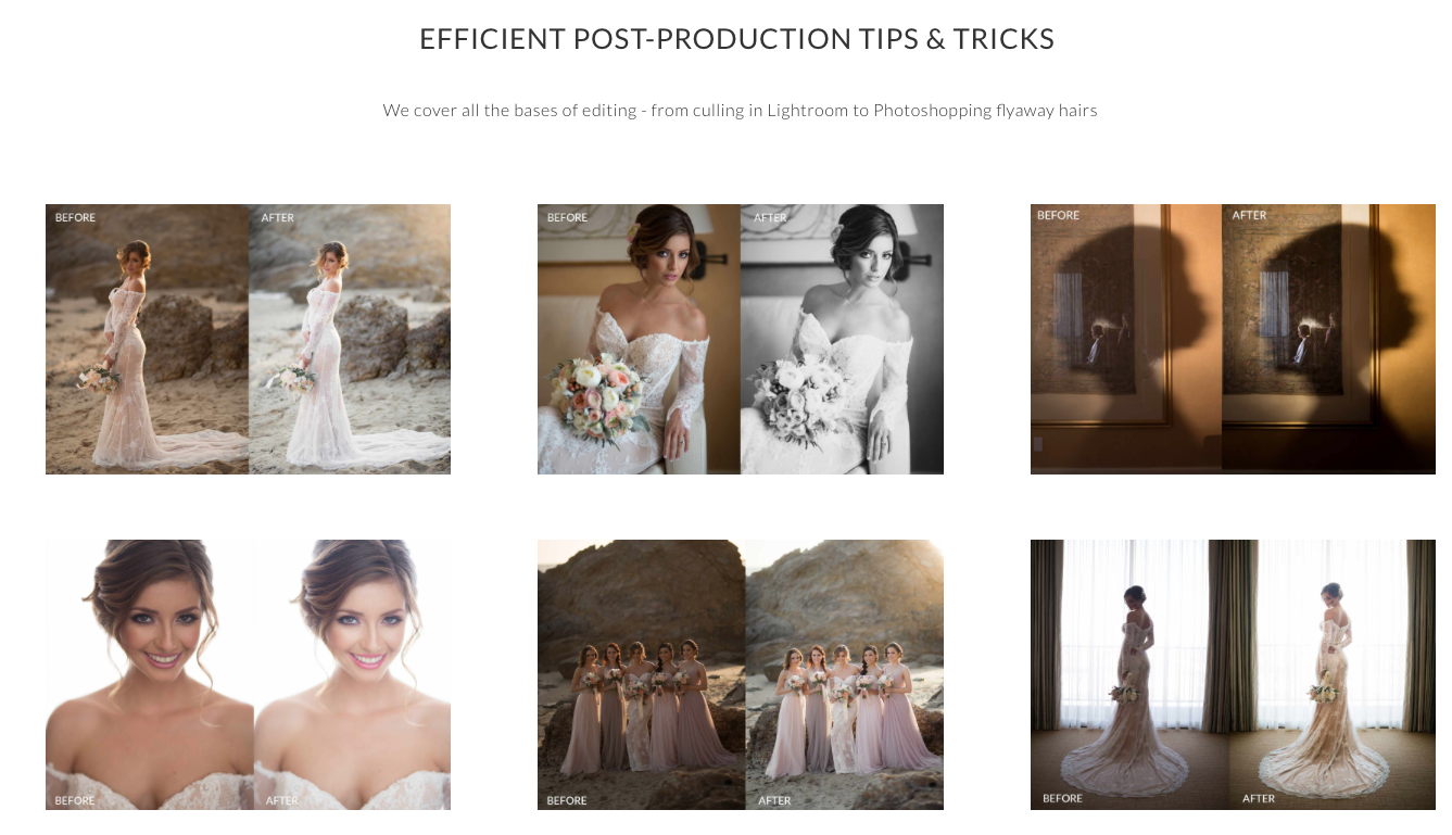 e16dbef48 40% OFF Photographing the Bride – Wedding Workshop